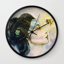 Respect The Queen Wall Clock