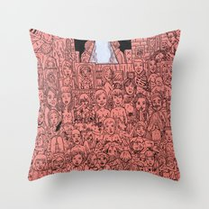 Lovelust Throw Pillow