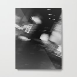 One Way v.2 Metal Print