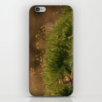 moss iPhone & iPod Skins featuring Moss by A Wandering Soul