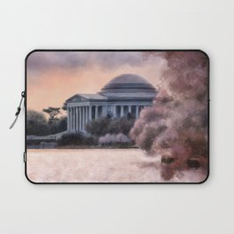A Cherry Blossom Dawn Laptop Sleeve