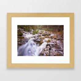 The magic river Framed Art Print