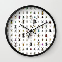 Beetlemania / Get your entomology on! Wall Clock