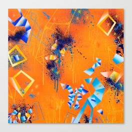 The Up-Side Of Down Canvas Print