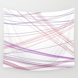 Design lines sweet Pink Wall Tapestry