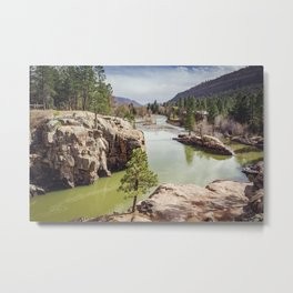 Animas River Colorado Metal Print