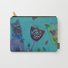 Mural on Matlacha Carry-All Pouch