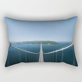 Akashi Kaikyo Rectangular Pillow