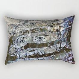 snow landlord Rectangular Pillow