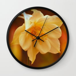 Columbine Beauty Wall Clock