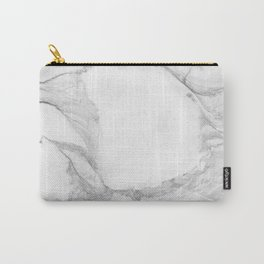 White Marble Edition 4 Carry-All Pouch