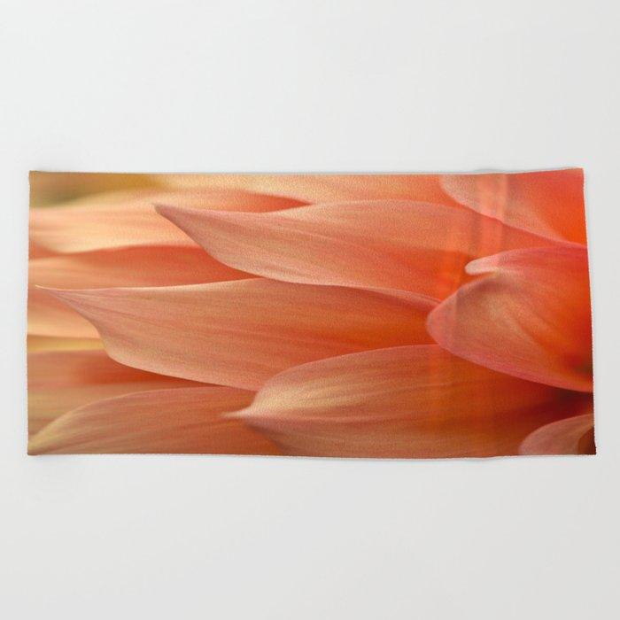 Gentle Petals Beach Towel