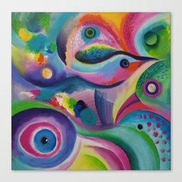 Bird Abstract Canvas Print