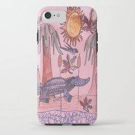 Swamp Hunt iPhone Case