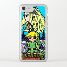 Hero of Time Clear iPhone Case