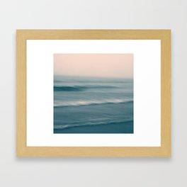 Soft wave Framed Art Print