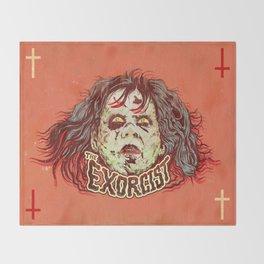Exorcist Throw Blanket