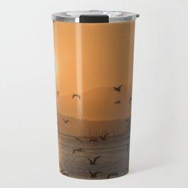 Flying into the sun Travel Mug