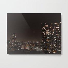 moon over tokyo Metal Print