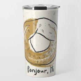 Bonjour, Hi Travel Mug