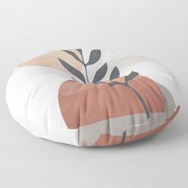 Abstract Rock Geometry 13 Floor Pillow
