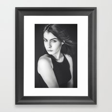 Lady Laura Framed Art Print