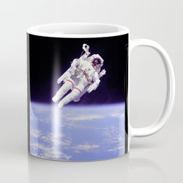 Astronaut on a Spacewalk Coffee Mug
