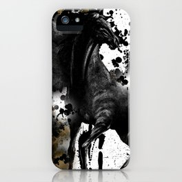 HORSE AND THUNDER iPhone Case