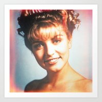 "laura palmer Art Prints featuring Twin Peaks ""Laura Palmer"" by Spyck"