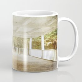 Empty Chairs Coffee Mug