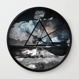 mortality colored Wall Clock