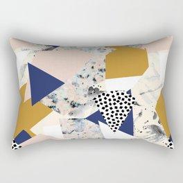 Shape of abstract textures Rectangular Pillow