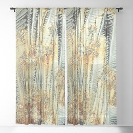 Vitamin C Sources for Happiness Sheer Curtain