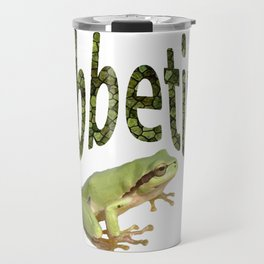 Ribbeting Frog Travel Mug