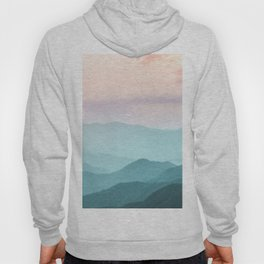 Smoky Mountain National Park Sunset Layers II - Nature Photography Hoody