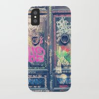 doors iPhone & iPod Cases featuring doors by dillon hesse