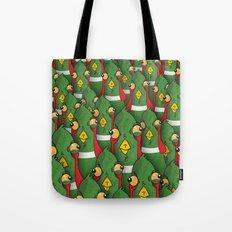 PHEASANTS - Birds | Funny | Comics | Rush | Stupid | Vector | Texture | LOL | Animals  Tote Bag