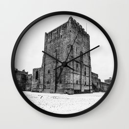 Portchester Castle. Wall Clock