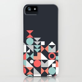 Modern Geometric 30 iPhone Case
