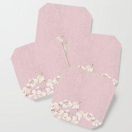 Pink Blossom Coaster