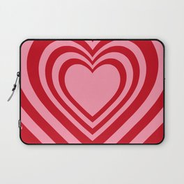 Beating Heart Red and Pink Laptop Sleeve