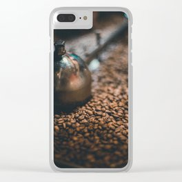 Roasted Coffee Clear iPhone Case