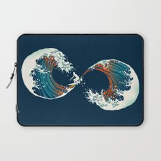 The Wave is forever Laptop Sleeve
