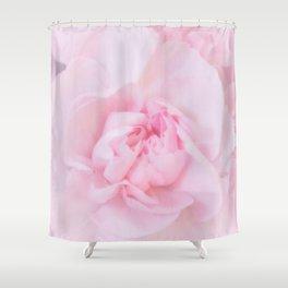 Soft Pink Carnation Shower Curtain