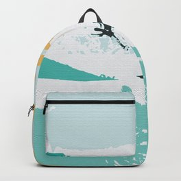 Pond In Palm Backpack