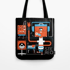 Stereo Found Tote Bag
