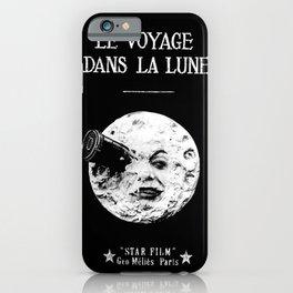 A Trip To The Moon Georges Méliès iPhone Case