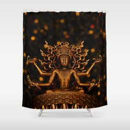 Tibetan Buddha 1 Shower Curtain