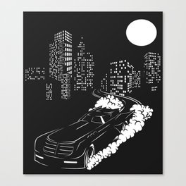BATMOBILE Canvas Print