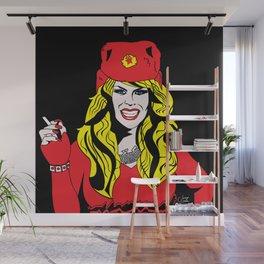 Katya Zamolodchikova Pop Art Wall Mural